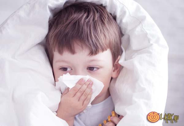 Ребенок чихает часто что делать